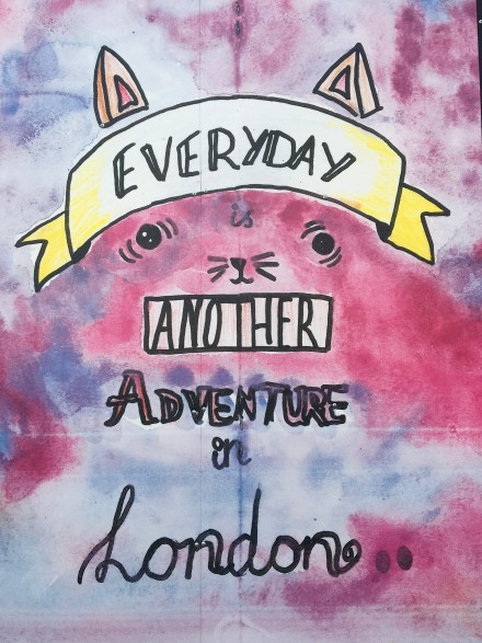 Every day is another adventure in London - 1