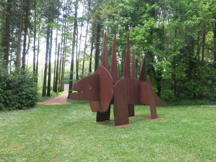 Chapmans dinos på CASS Sculpture Foundation