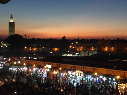 jemaa sunset