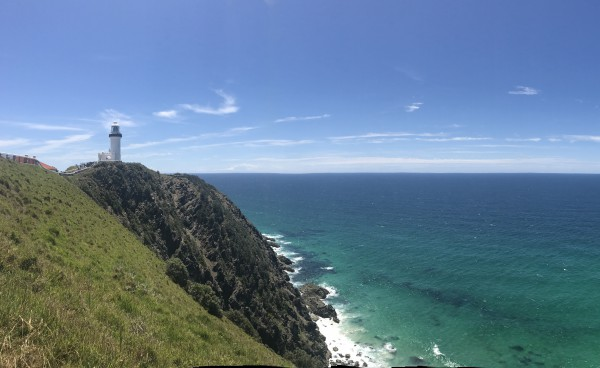 Vy mot Cape Byron Lighthouse ?