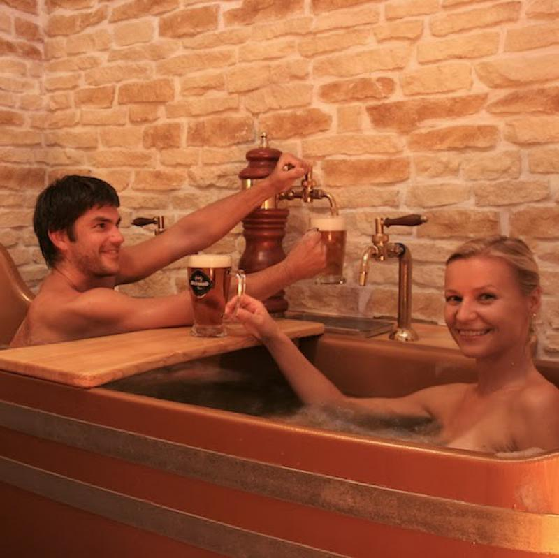 Prague Beer Spa Bernard