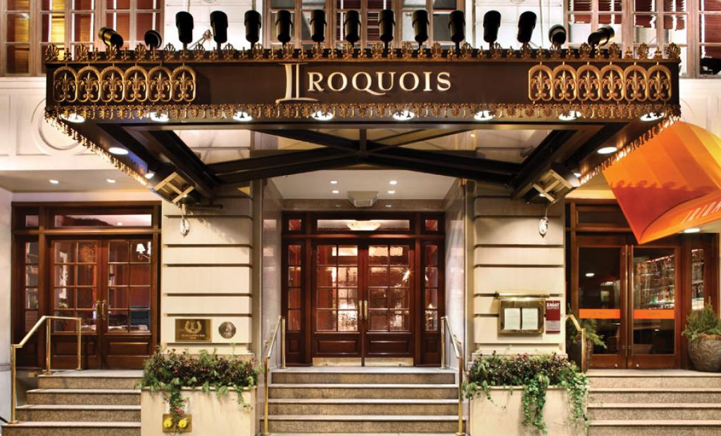 Iroquois hotel New York