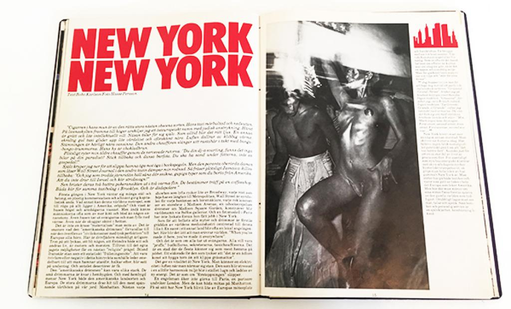 New York, USA: New York - ett resereportage från 1982